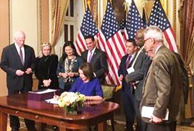 Aguilars bipartisan bill signed
