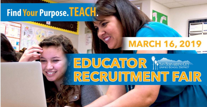 Educator Recruitment fair