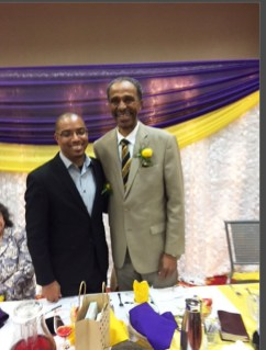 Rev. Bernard Jackson from Phillips Temple CME Church in Los Angeles, CA and Pastor James E. Markham from Emmanuel Temple CME Church.