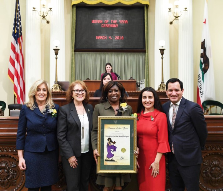 Assemblymembers and Gwendolyn Lorraine Dowdy-Rodgers