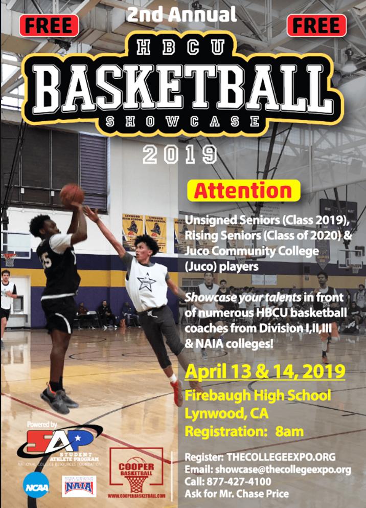 HBCU 2nd Annual Basketball Showcase