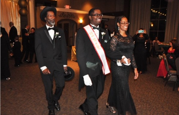 Neuman Sneed II Sir Knight 2019 and Mother