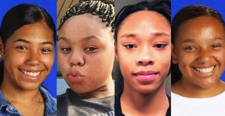 Missing black girls photo