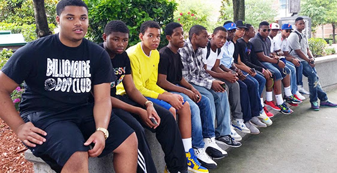 Black Male Students photo