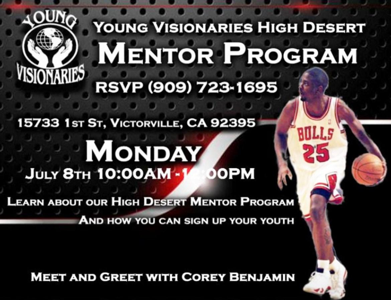 Young Visionaries Mentoring program