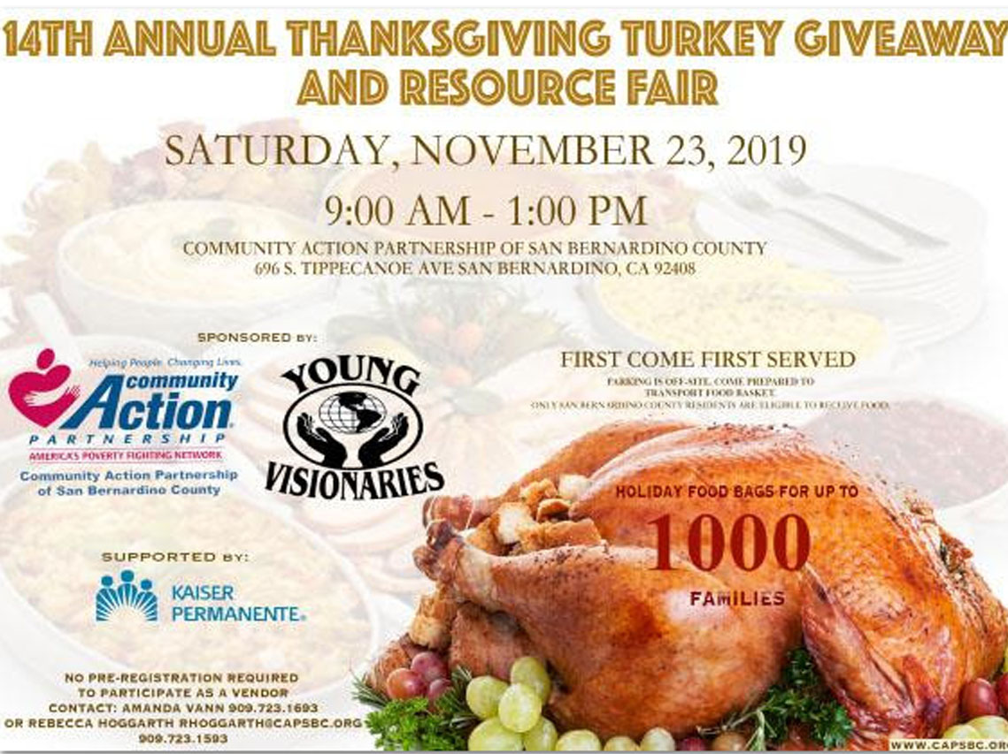14th Annual Turkey and Giveawy Resource Fair