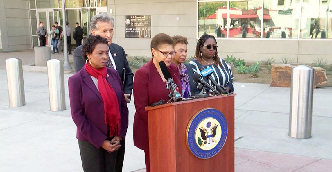 Members of Congressional Black Caucus