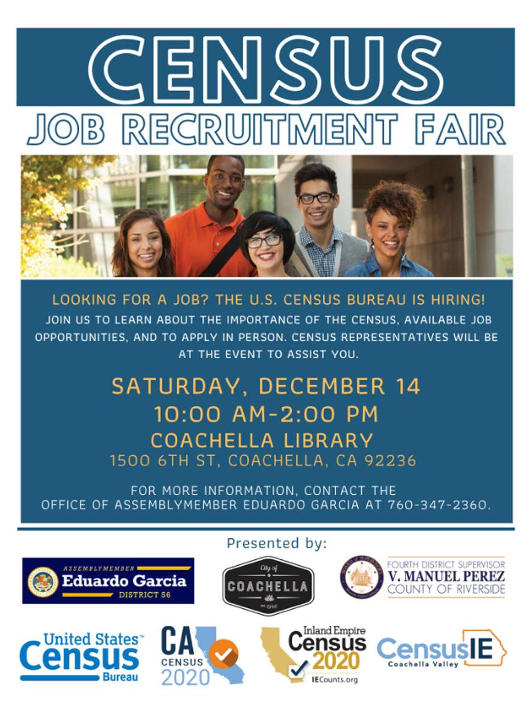 Census Job Recruitment Fair