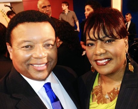 "Dr. Kelvin ""Kelly"" Wright and Bernice King."