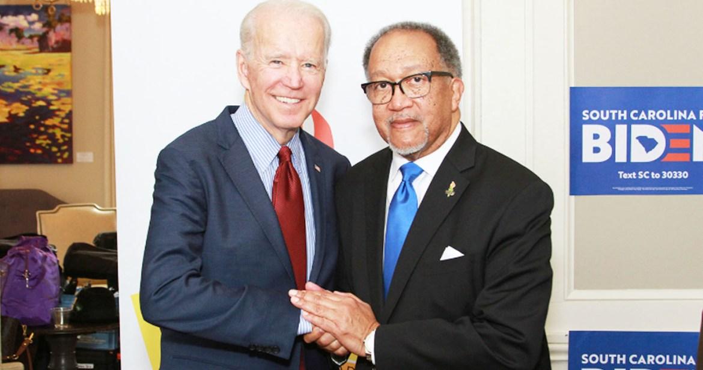 Biden and Ben Chavis