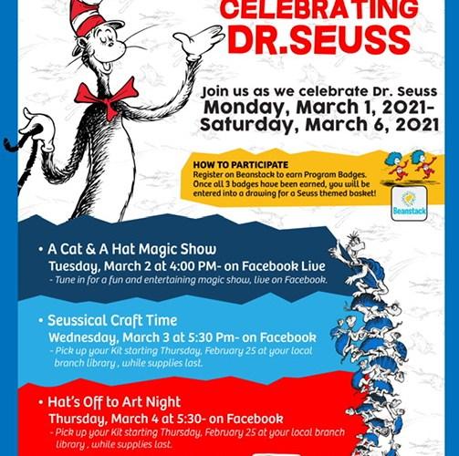 The San Bernardino County Library Dr. Seuss Celebration