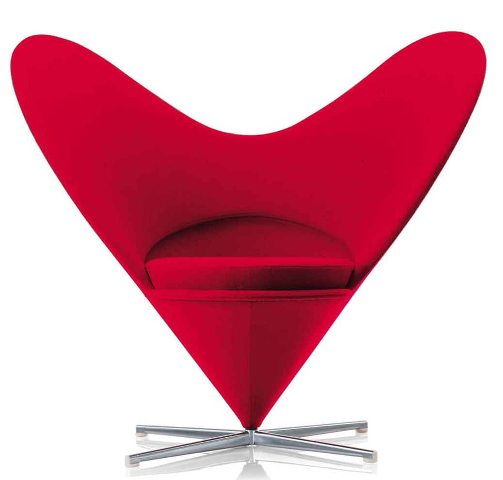 vitra_verner_panton_heart_cone_chair_red