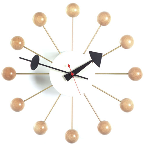 Ball ClockDesign George Nelson, 1948 © Vitra Collections AG