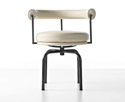 La poltroncina girevole lc7 di le corbusier u2013 sbandiu: momenti di design