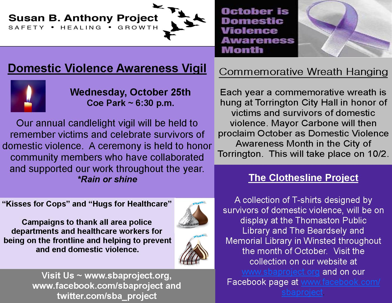 Awareness Unity Violence Community Domestic 2017
