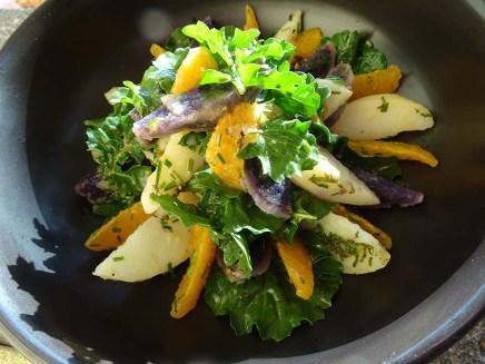 Nana Mac's Potato and Orange Salad - 5