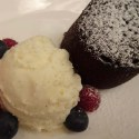 Chocolate Fondant - Menu Marker