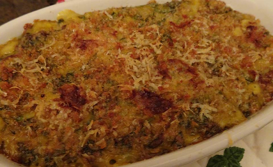 Chard,Onion & Cheese Gratin - 15