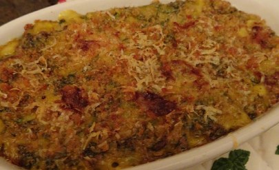 Chard,Onion & Cheese Gratin - 15