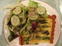 Asparagus Tart - Blog 3
