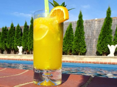 Zingy Citrus Mocktail - Recipe Image