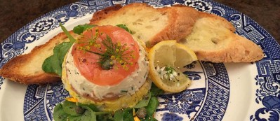 Smoked Salmon and Egg Terrine 3