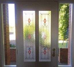 The front door, looking out, at Wandin Valley Views