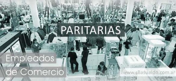 empleados de comercio paritarias