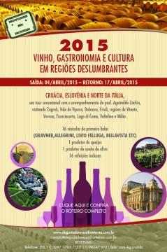 Vinho, Gastronomia e Cultura em Regiões Deslumbrantes