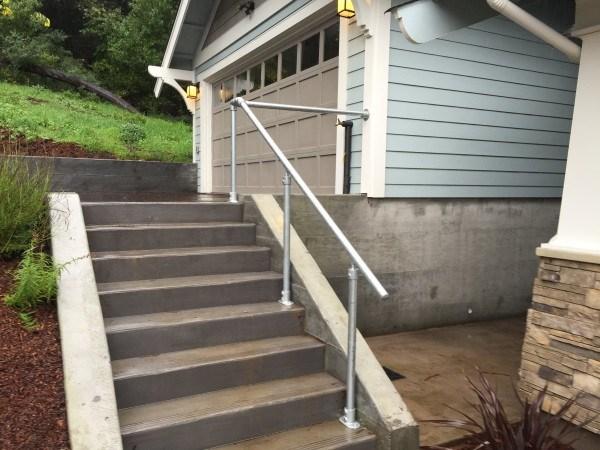 14 Exterior Handrail Ideas Simplified Building | Handicap Rails For Steps | Grab Rail | Deck | Porch Railing | Bed Rails | Activated Led