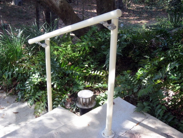 Easy To Install Outdoor Stair Railing Simplified Building | Outdoor Handrails For Elderly | Mobility | Old Person | Deck | Ireland | Wrought Iron