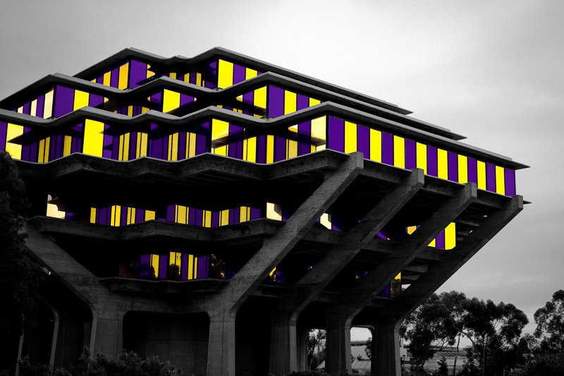 Geisel Library – Kira Welch