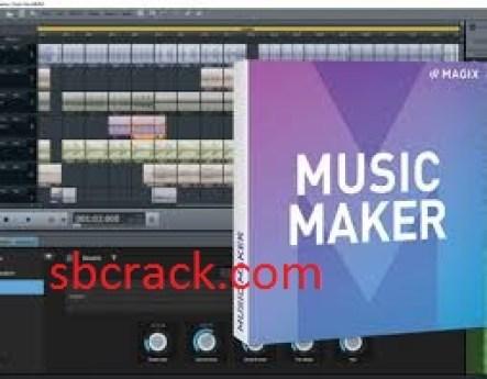 Music Maker 2021 Crack