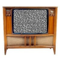 Television (Wooden)