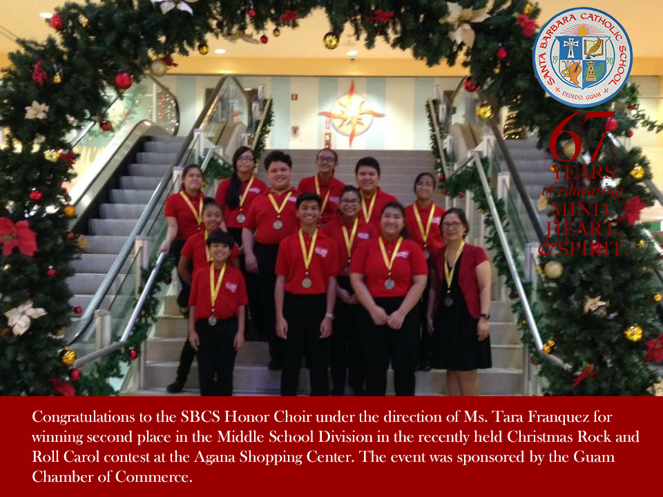 Honor Choir Congrats