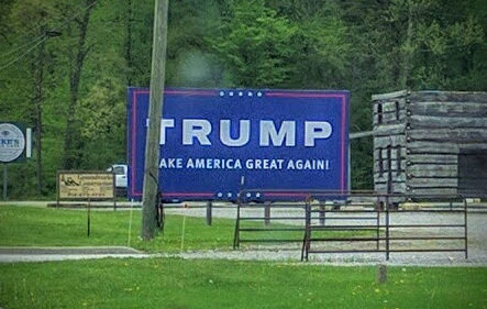 TRUMP Billboard in Madison, Indiana (May 2016)