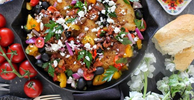 Mediterranean Chicken Caponata