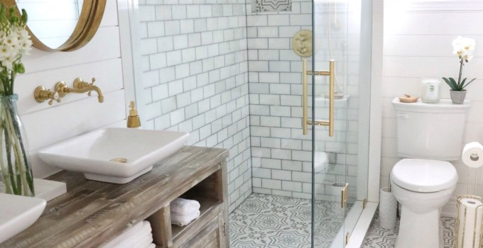 A Simply Beautiful Bathroom Makeover