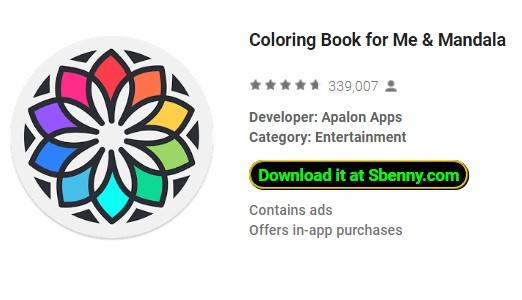 Coloring Book For Me Mandala Premium Version Mod Apk