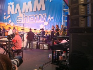 Band From TV Performing at The NAMM Show
