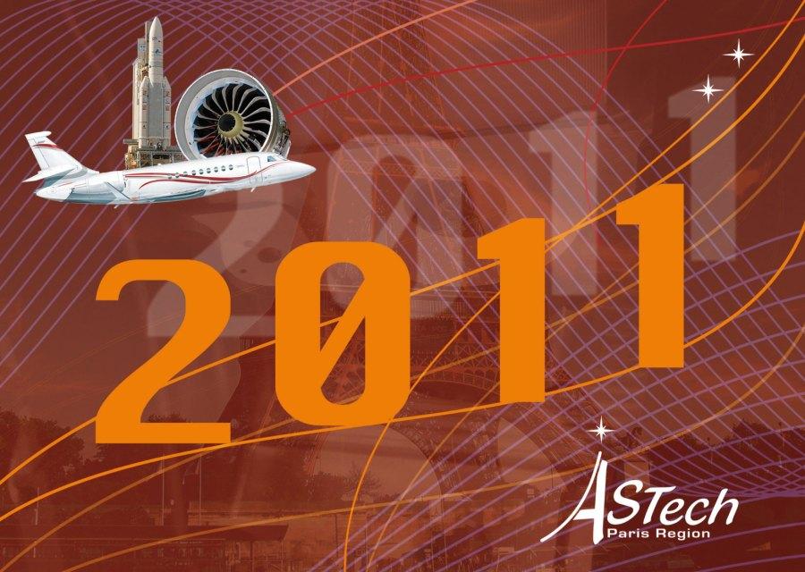 carte de vœux 2011 pour ASTech Paris Region