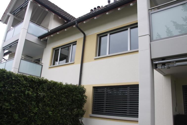 Fassade und Balkon nach Sanierung
