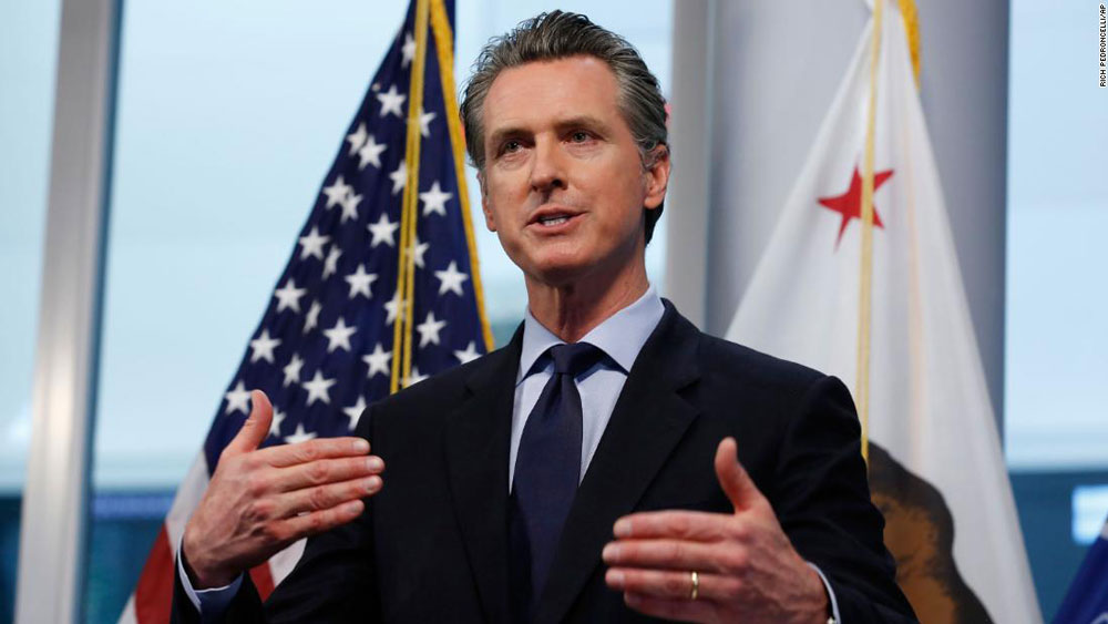 Governor Gavin Newsom says plan to reopen West Coast 1