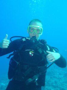Kevin SCUBA Diving