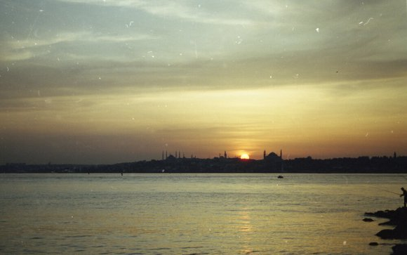 Istanbul, 2000 or 2001.