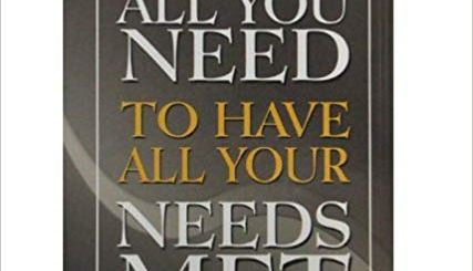 Download All You Need To Have All Your Needs Met By Bishop David Oyedepo
