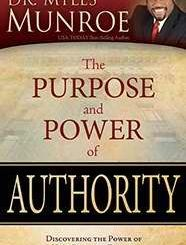 Download Purpose And Power Of Authority by Myles Munroe