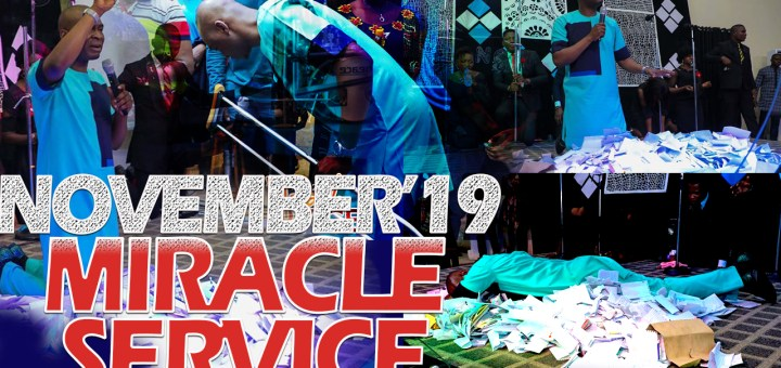 Download November 2019 Miracle Service Koinonia with Apostle Joshua Selman Nimmak