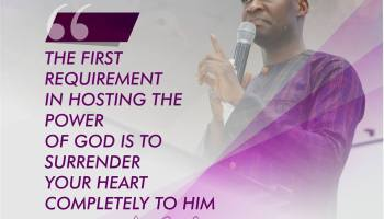 Hosting The Power of God-Day Five of Koinonia's Seven Days of Revival with Apostle Joshua Selman Nimmak