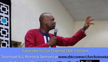 Download Dimensions of Understanding Men Podcast Koinonia with Apostle Joshua Selman Nimmak